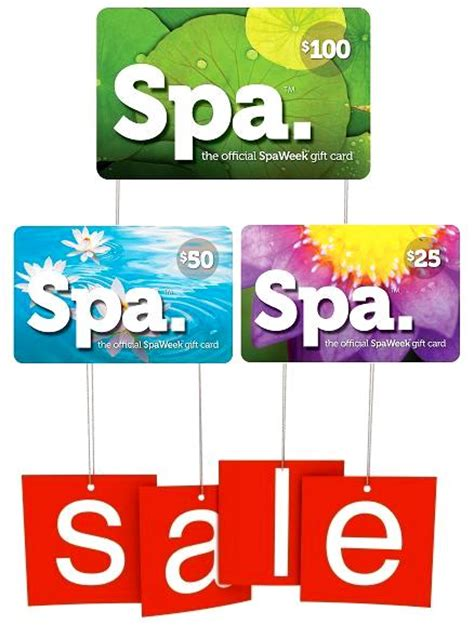 Spaweek Gift Card - give the gift of relaxation spa week holiday sale stylemom