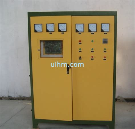 induction heating using scr medium frequency kgps scr induction heating power supply and induction furnace united