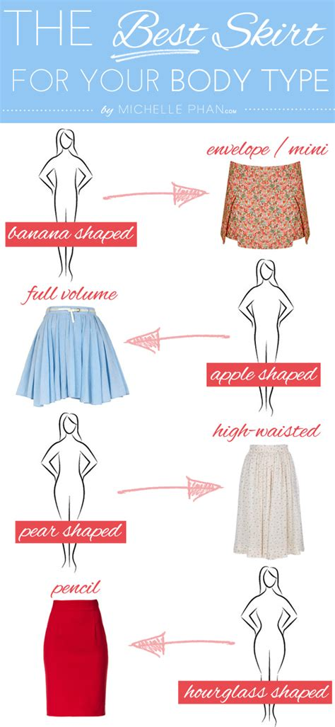 best clothes for your body type flattering hairstyles the best skirt for your body type michelle phan