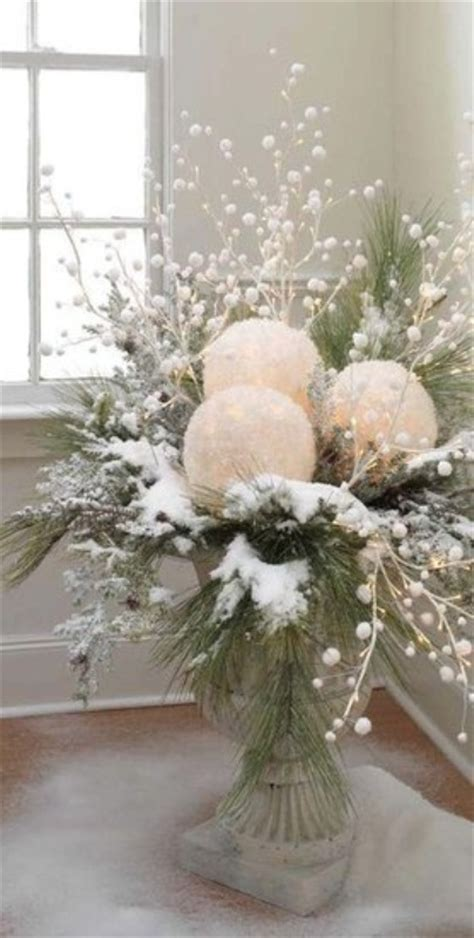winter decorations winter table ideas more how to 75 charming winter centerpieces digsdigs