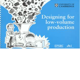 design for low volume manufacturing healthcare design group