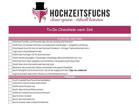checkliste hochzeit 3 hochzeitschecklisten kostenlose planer zum