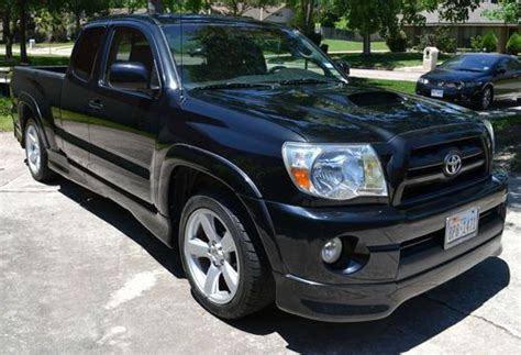 2005 Toyota Tacoma X Runner Purchase Used 2005 Toyota Tacoma X Runner Black 1 Owner