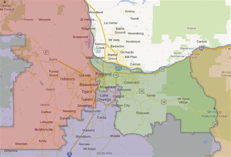 map of oregon legislative districts oregon congressional redistricting your government