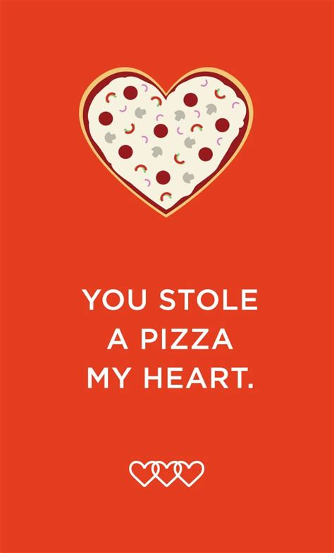 Pizza Valentines Card Template by 17 Best Images About On Gifts