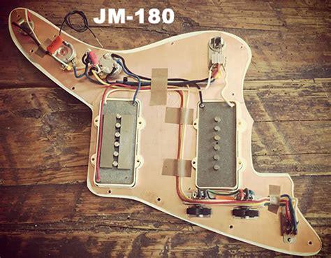 rothstein guitars jazzmaster wiring prewired