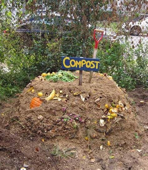 fill your compost pile