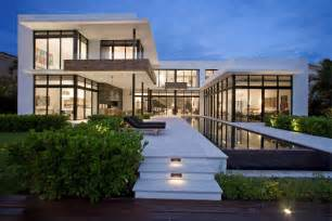 modern homes florida elegant modern home in golden beach florida