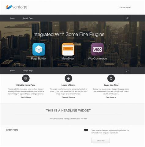 Wordpress Tutorial Vantage | free wordpress theme vantage doteasy wordpress