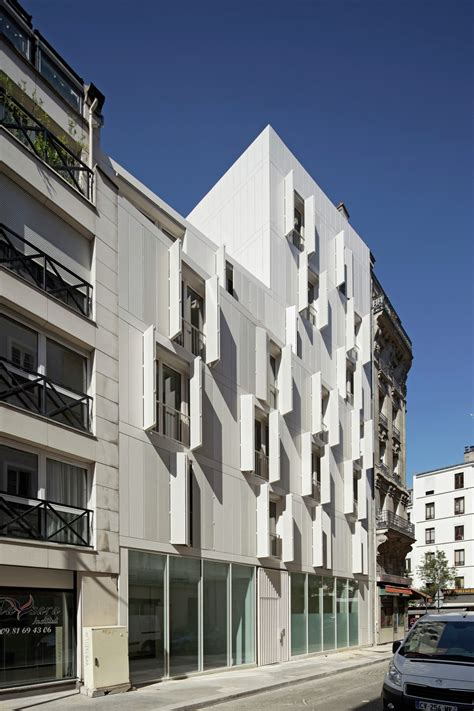 appartments in paris housing in paris projectiles archdaily