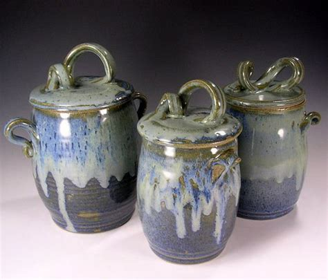 pottery canisters kitchen 174 best images about pottery ceramic soup tureen