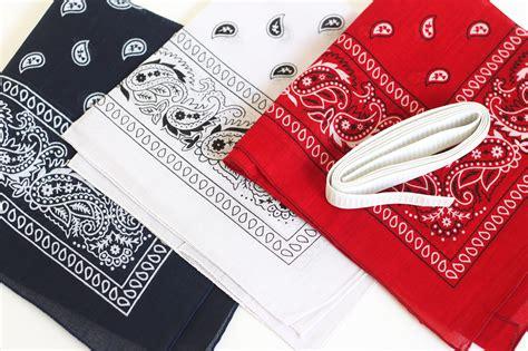 red white  blue bandana headbands diy candy