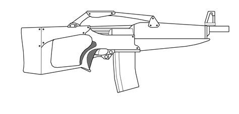 Coloring Page Gun by Gun Coloring Pages The Gun Machine Gun Etc