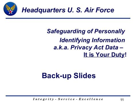 section 11 data protection act sec af pa slides