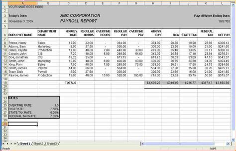 payroll check template excel 11 excel templates for payroll secure paystub