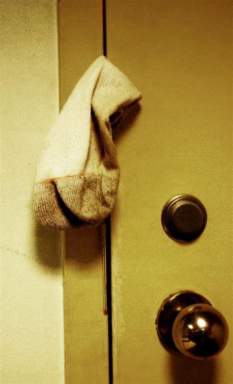 door sock door sock advertisements