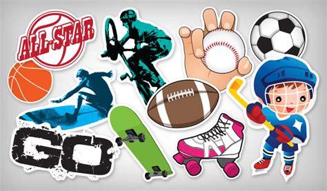 Sports Stickers sports stickers stickeryou products stickeryou