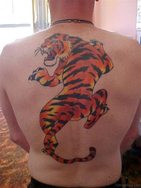 tiger back tattoo 60 tiger tattoos for back