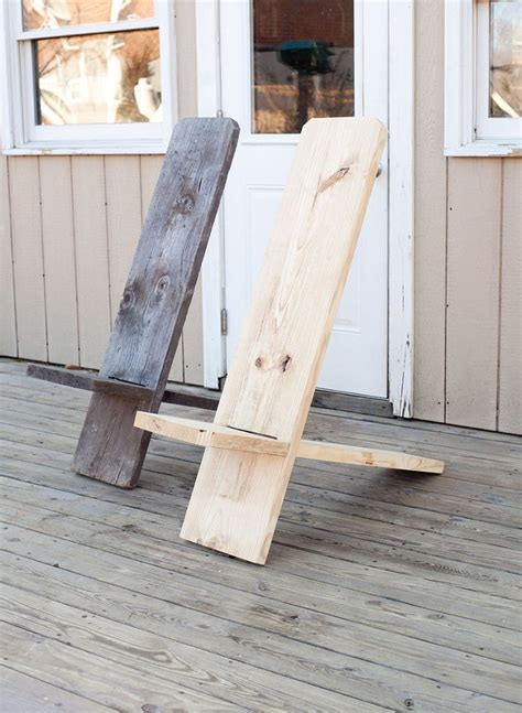 one board woodworking projects diy one board minimalist chair home design garden