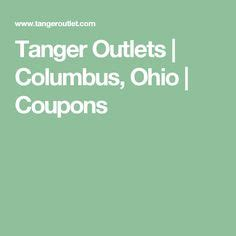 printable restaurant coupons columbus ohio the perfect gift banner tanger outlets pinterest