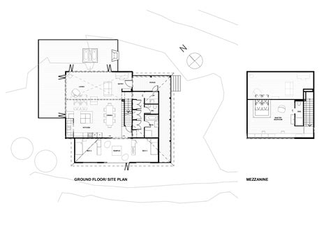 mezzanine floor plan gallery of 2 5 house khuon studio gallery of back country house ltd architectural design