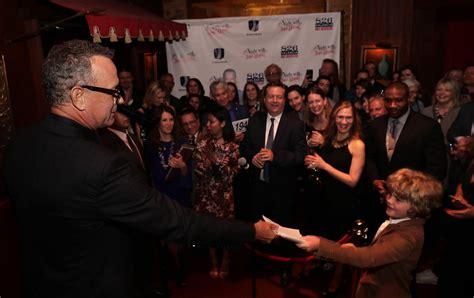 Tom Hanks Criminal Record Tom Hanks Novice Author Reveals Fears At Education Benefit Sfgate