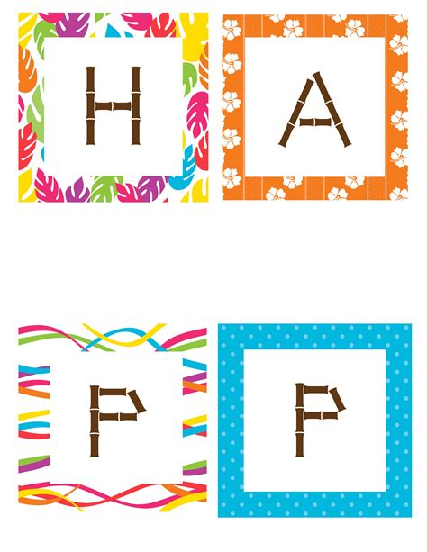 free printable luau birthday banner best photos of luau party banner clip art hawaiian luau