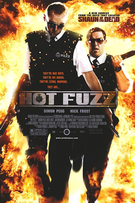 themes of hot fuzz hot fuzz movie posters at movie poster warehouse