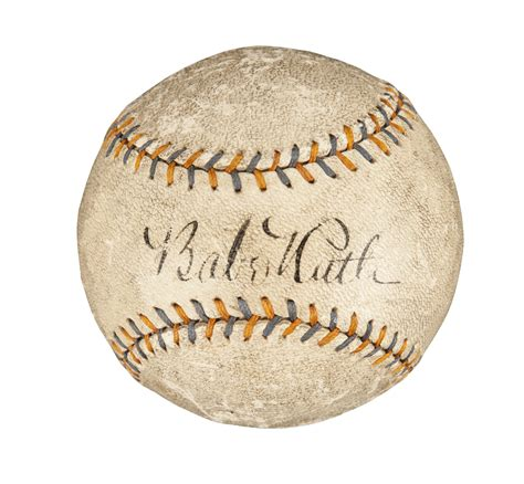 Lot Detail Babe Ruth 1920s Home Run Special Single