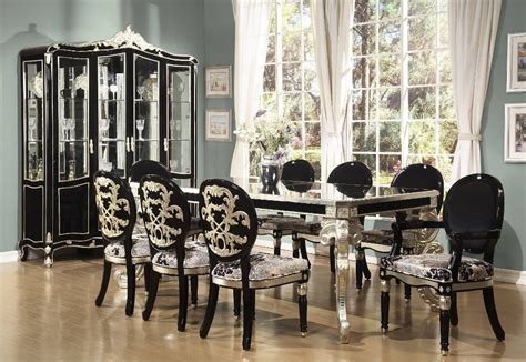 Black Formal Dining Room Sets Dining Room Collection European Modern Formal Dining Room