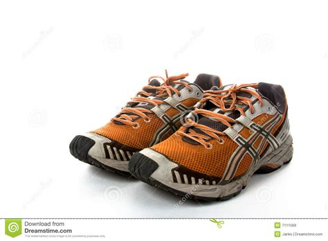 boots running time running shoes stock image image of inside