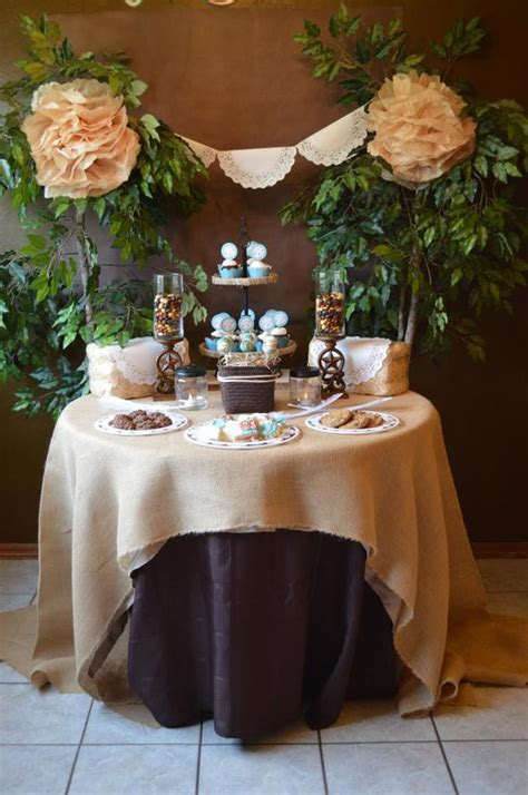 shabby chic wedding shower ideas kara s ideas shabby chic western wedding bridal