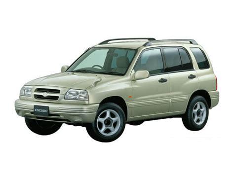 Suzuki Escudo Specs Suzuki Escudo Technical Specifications And Fuel Economy