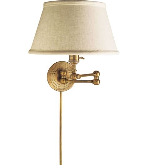 antique brass swing arm wall l visual comfort sl2920hab l e f chapman boston 19 inch 60