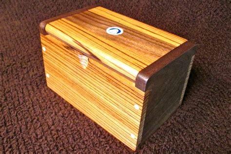 walnut woodworking projects zebra wood walnut stash box by jbschutz lumberjocks