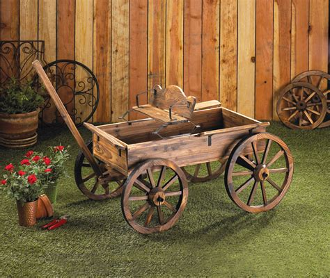 garden decoration wholesale wholesale rustic wagon buy wholesale garden decor