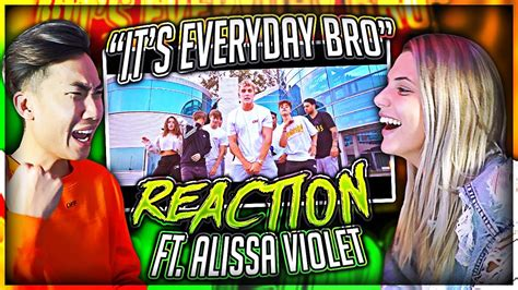 rating 1 10 alissa violet tessa reacting to jake paul s song with his ex