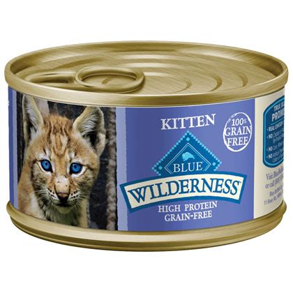 Blue Buffalo Wilderness Canned Kitten Food 1800petmeds