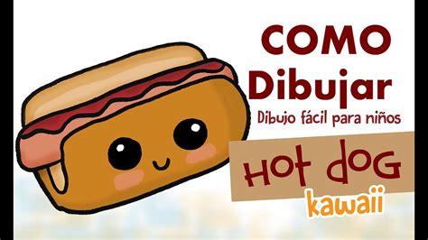 imagenes kawaii de tacos como dibujar hot dog kawaii dibujo f 225 cil para ni 241 os