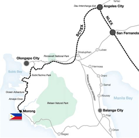 fort morong resort map benisa resort in morong bataan discover bataan
