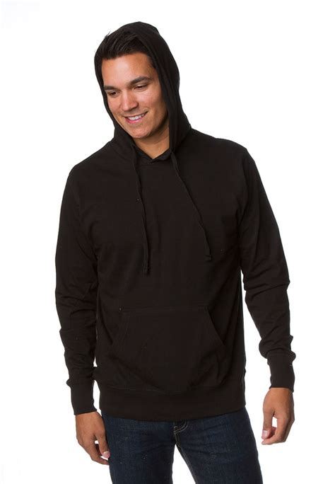 Birds Ss Original 100 Real ss150j mens lightweight jersey hooded pullover