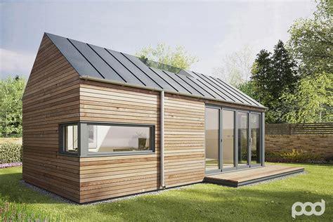 Wood Floor In Powder Room - pod space garden prefab getaways prefab cabins