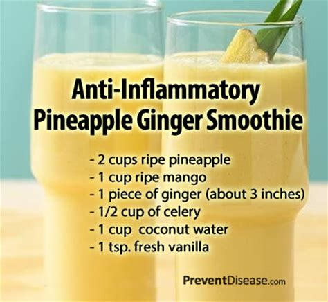 Pineapple Detox Benefits by The Health Benefits Of Pineapple Smoothie And