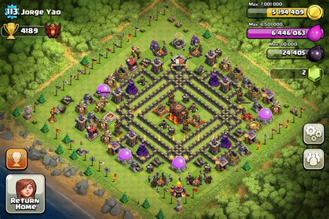 coc village layout th10 301 moved permanently