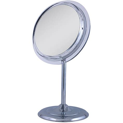 Lighted Makeup Mirror Walmart by Sa37 Zadro Surround Light Pedestal Vanity Mirror With 7x