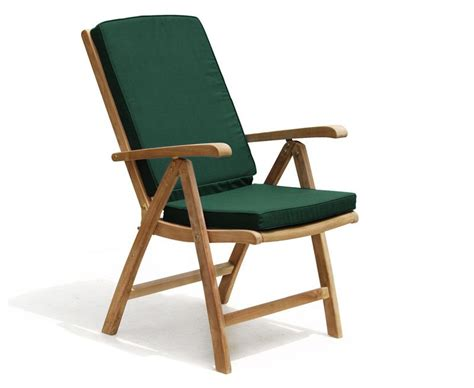Garden Reclining Chair by Cheltenham Teak Garden Reclining Chair