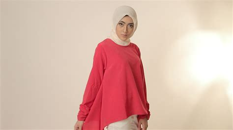 Gamis Muslim Aresya Dress dammai busana baju muslim modern