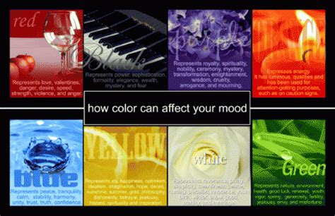 color effects on mood selecting the right color that will affect positive mood