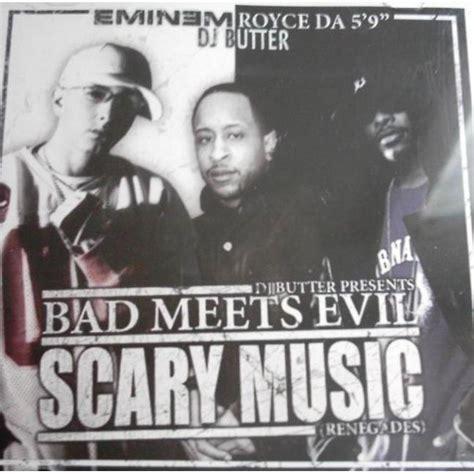 Eminem Bad Meets Evil bad meets evil scary eminem mp3 buy tracklist