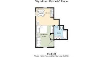 wyndham kingsgate floor plan club wyndham wyndham patriots place